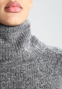 ONLY - ONLJANA DRESS  - Strikket kjole -  grey - 3