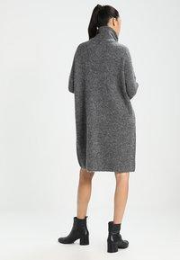 ONLY - ONLJANA DRESS  - Abito in maglia -  grey - 2