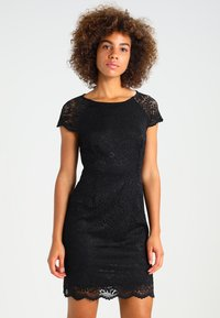 ONLY - ONLSHIRA LACE DRESS  - Vestido de cóctel - black - 0