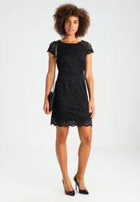 ONLY - ONLSHIRA LACE DRESS  - Vestido de cóctel - black - 1