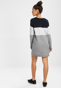 ONLY - NEW BLOCK DRESS - Jumper dress - light grey melange - 2