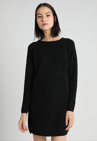 ONLY - NEW BLOCK DRESS - Jumper dress - black - 0