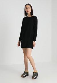ONLY - NEW BLOCK DRESS - Jumper dress - black - 2