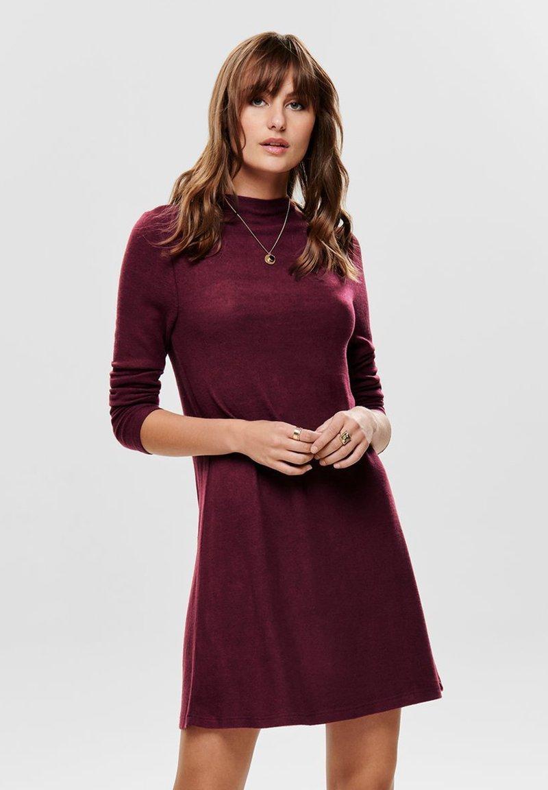 ONLY - ONLKLEO - Shift dress - tawny port