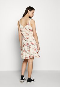 ONLY - ONLKARMEN SHORT DRESS - Day dress - creme brûlée/rose - 3