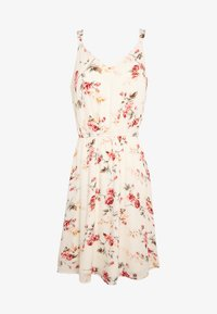 ONLY - ONLKARMEN SHORT DRESS - Day dress - creme brûlée/rose - 4