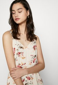 ONLY - ONLKARMEN SHORT DRESS - Day dress - creme brûlée/rose - 5