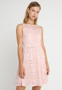 ONLY - ONLDICTE DRESS - Korte jurk - rose smoke - 0