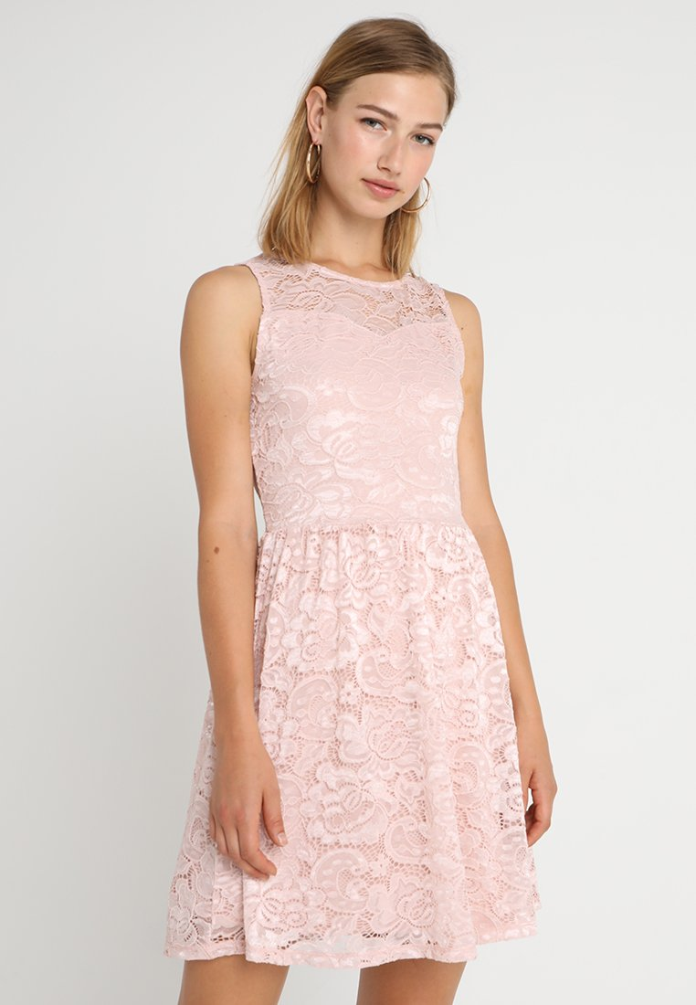 ONLY - ONLDICTE DRESS - Korte jurk - rose smoke