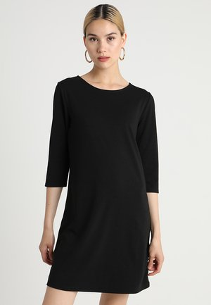 ONLBRILLIANT 3/4 DRESS  - Jerseykjoler - black