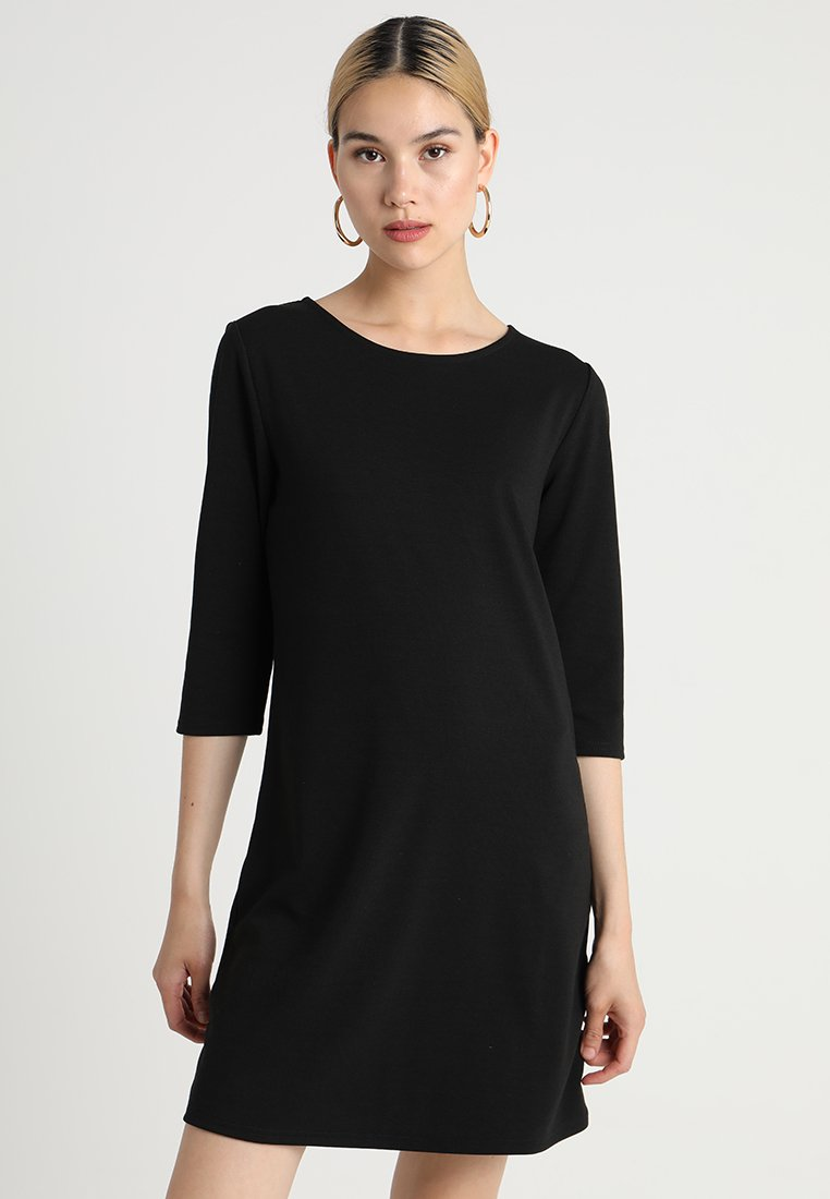 ONLY - ONLBRILLIANT 3/4 DRESS  - Vestito di maglina - black