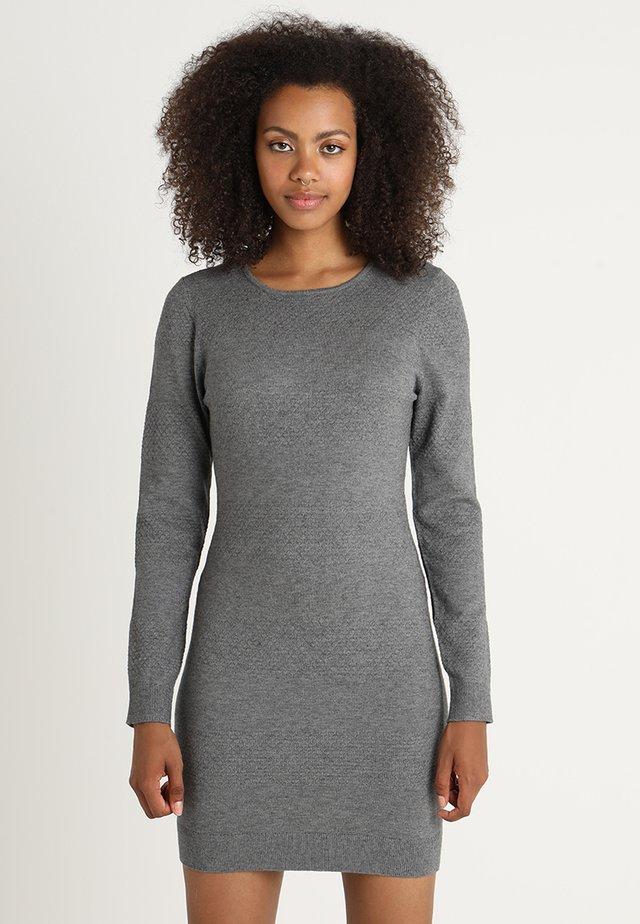 ONLBRENDA DRESS - Vestido de punto - medium grey melange