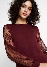 ONLY - ONLVIKTORIA DRESS - Robe pull - tawny port - 4