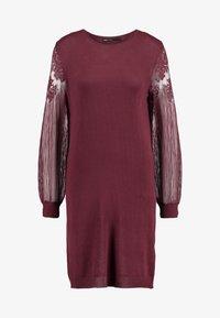 ONLY - ONLVIKTORIA DRESS - Robe pull - tawny port - 3