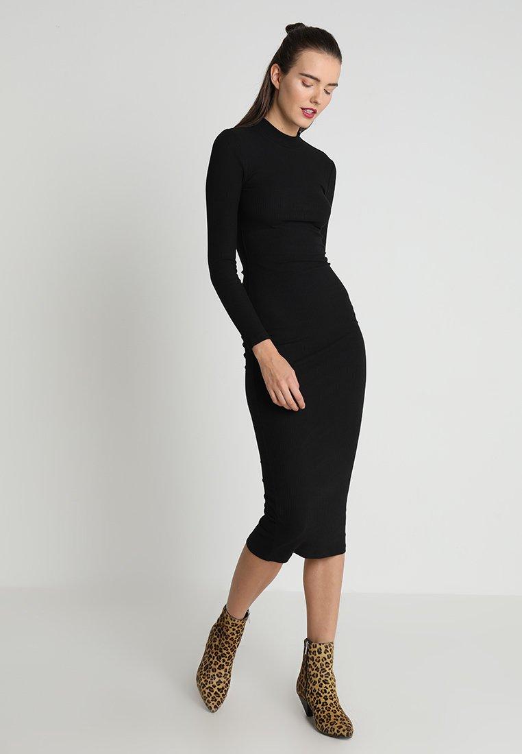 ONLY - ONLELLEN LONG DRESS  - Robe fourreau - black