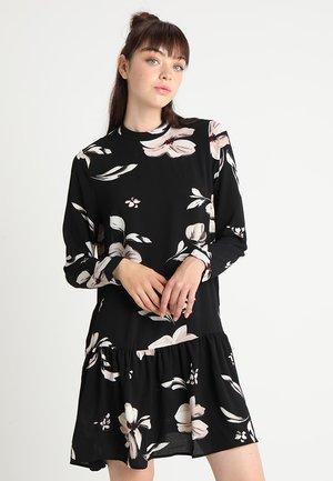 ONLNOVA LUX RIKKE DRESS  - Vestito estivo - black