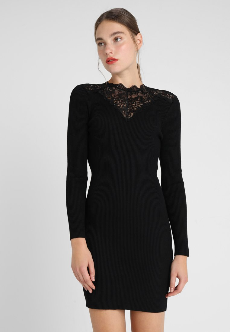 ONLY - Strickkleid - black