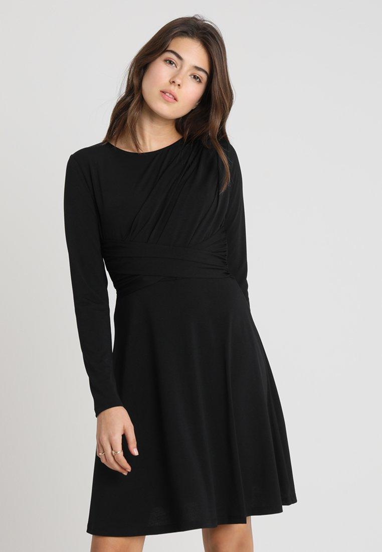 ONLY - ONLXENIA DRESS - Vestito di maglina - black