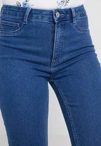 ONLY - ONLRISK HI-RISE BOX - Jeansy Skinny Fit - medium blue denim - 3