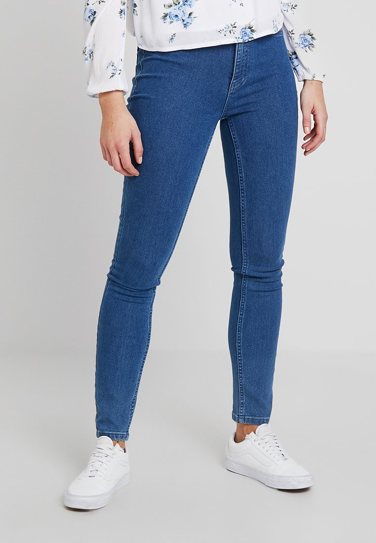 ONLY - ONLRISK HI-RISE BOX - Jeans Skinny Fit - medium blue denim
