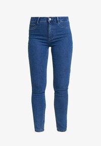 ONLY - ONLRISK HI-RISE BOX - Jeansy Skinny Fit - medium blue denim - 4