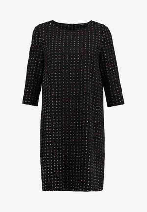 ONYMICHELLE 3/4 DRESS - Korte jurk - black/bright white