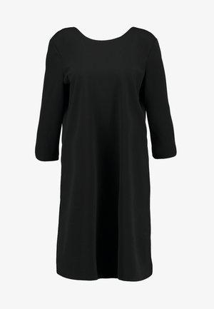 ONLXENIA DRESS - Spijkerjurk - black