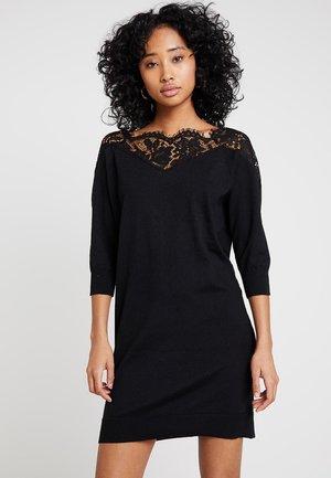 ONLALLY 3/4 SPRING DRESS - Jumper dress - black