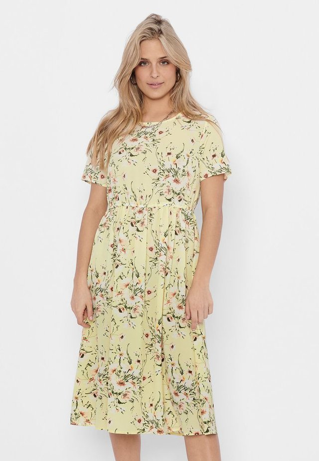 ONLY - Vestido informal - pale lime yellow