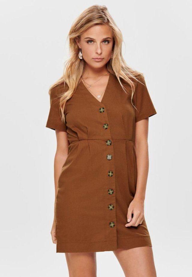 ONLBIBS - Blousejurk - brown