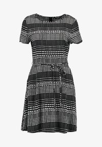 ONLY - ONLNOVA DRESS - Day dress - black - 4