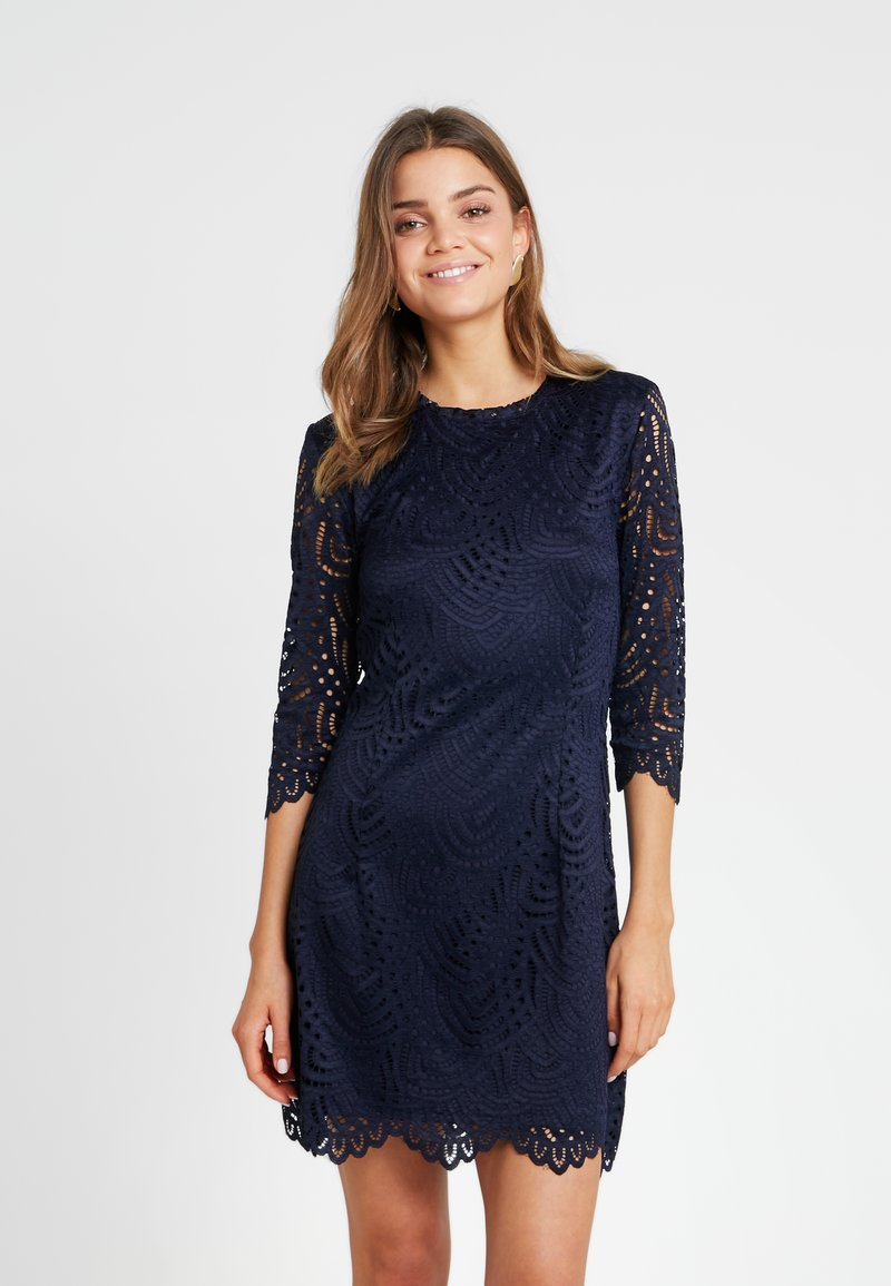 ONLY - ONLEDITH 3/4 DRESS - Freizeitkleid - night sky