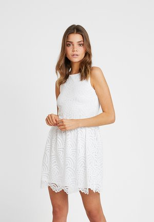 ONLEDITH DRESS - Cocktailjurk - cloud dancer