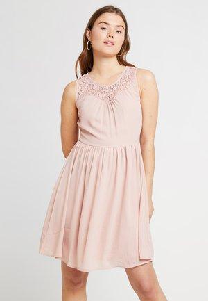 ONLCANA ABOVE KNEE DRESS - Vestido informal - misty rose