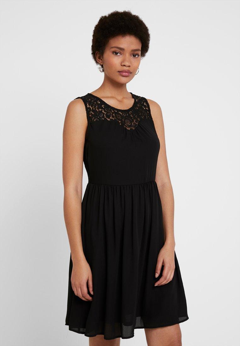 ONLY - ONLCANA ABOVE KNEE DRESS - Korte jurk - black