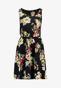 ONLY - ONLNOVA SARA DRESS - Sukienka letnia - black - 4