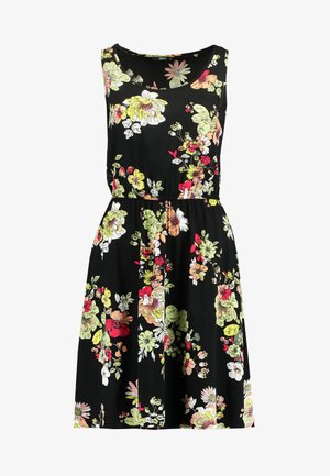 ONLNOVA SARA DRESS - Denní šaty - black