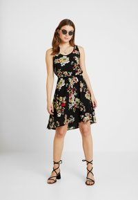 ONLY - ONLNOVA SARA DRESS - Korte jurk - black - 1