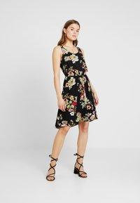 ONLY - ONLNOVA SARA DRESS - Korte jurk - black - 0