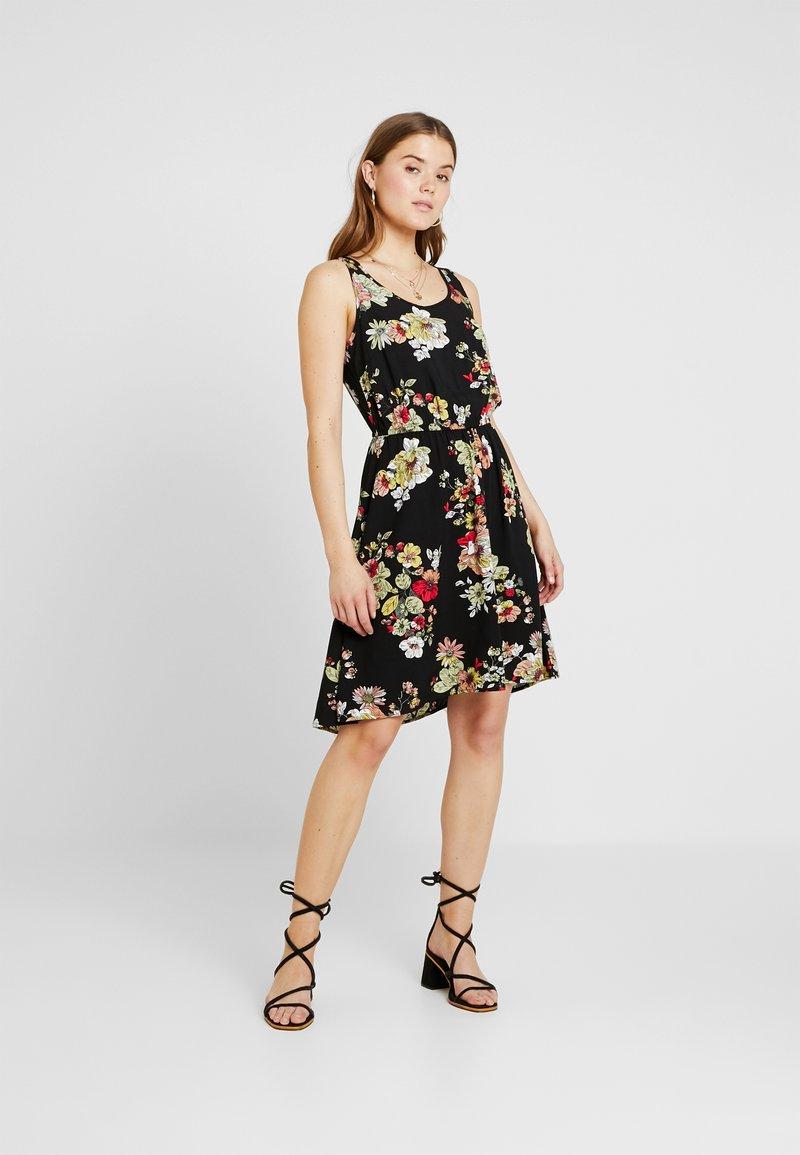 ONLY - ONLNOVA SARA DRESS - Korte jurk - black