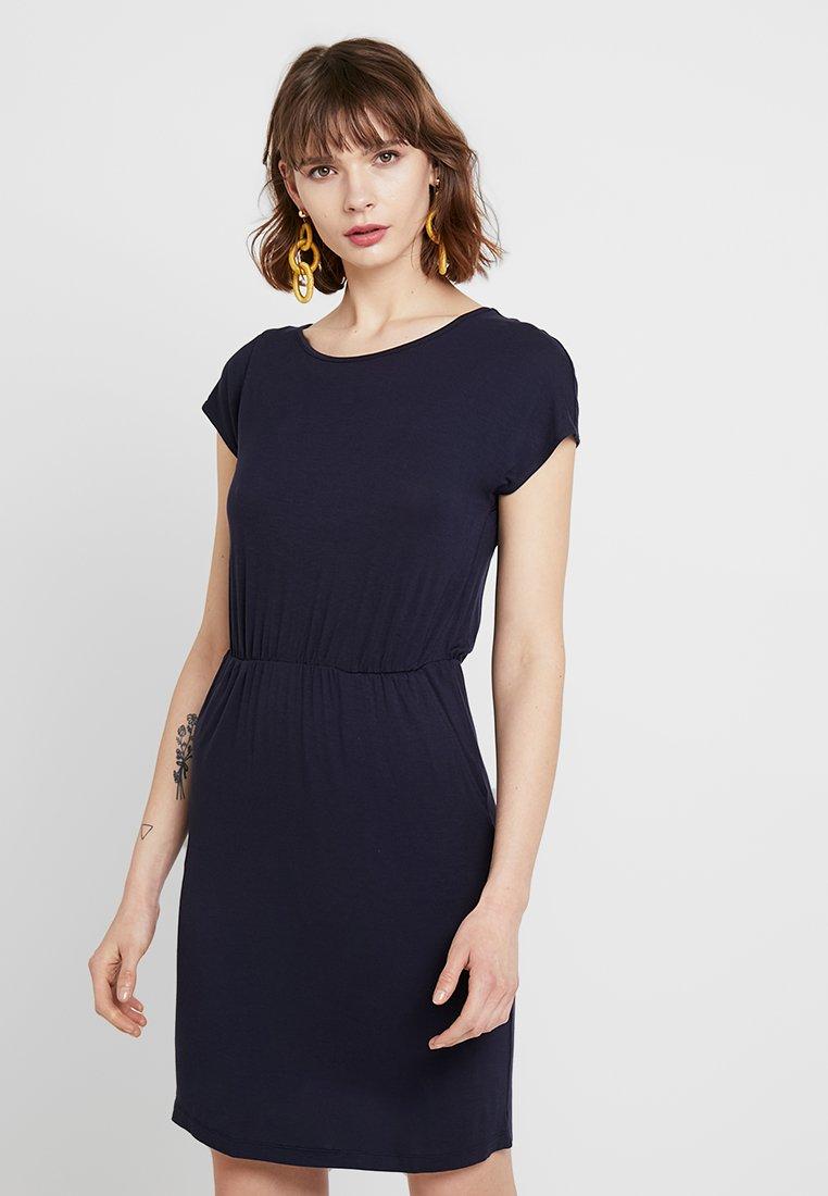 ONLY - ONLBALI DEEP BACK DRESS - Jersey dress - night sky