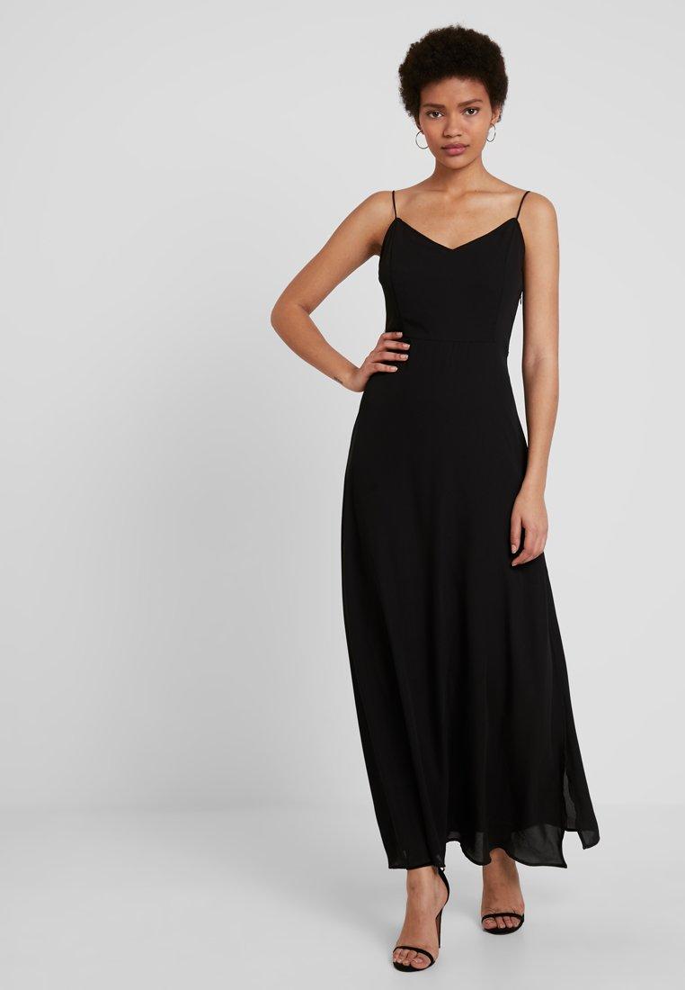 ONLY - ONLCANA STRAP OPEN BACK LONG DRESS - Maxikleid - black