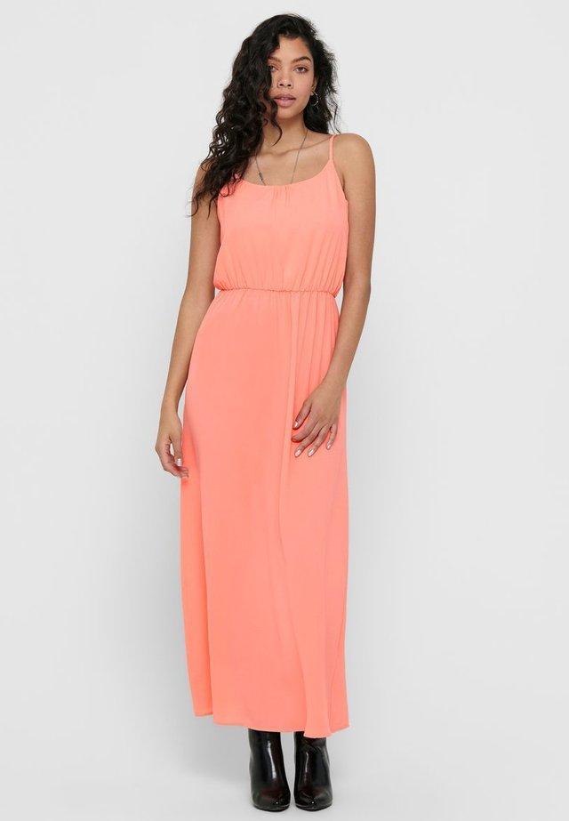 Vestito lungo - peach amber