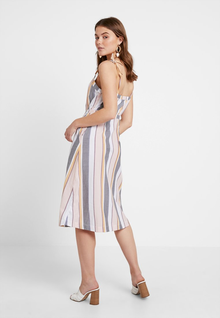 ONLY - ONLVIDA STRIPED DRESS - Blusenkleid - cameo rose