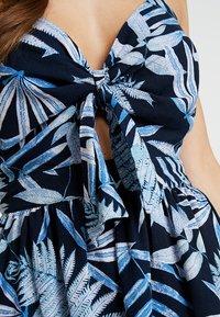 ONLY - ONLAMALIA STRAP DRESS - Day dress - insignia blue/summer tropic - 6