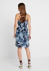 ONLY - ONLAMALIA STRAP DRESS - Day dress - insignia blue/summer tropic - 3