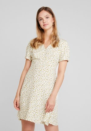ONLJOLIE SHORT DRESS - Day dress - cloud dancer