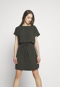 ONLY - ONLMARIANA MYRINA DRESS - Korte jurk - peat - 0