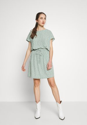ONLMARIANA MYRINA DRESS - Day dress - chinois green