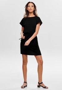 ONLY - ONLMARIANA MYRINA DRESS - Day dress - black - 1
